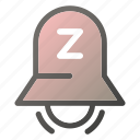 alarm, bell, stopring, timersleep icon
