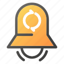 alarm, bell, stopring, timersync icon