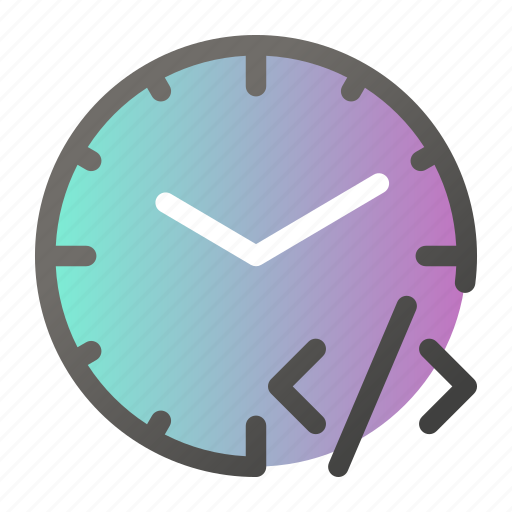 alarm, clock, code, inequality, time, watch icon