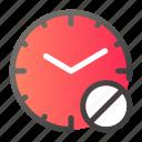 alarm, clock, cross, forbidden, no, time, watch