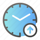 alarm, clock, increase, time, up, watch