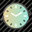 alarm, alert, clock, recycle, refresh, sync icon