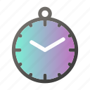 alarm, clock, stopwatch icon