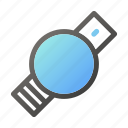 alarm, clock, smartwatchround, time icon