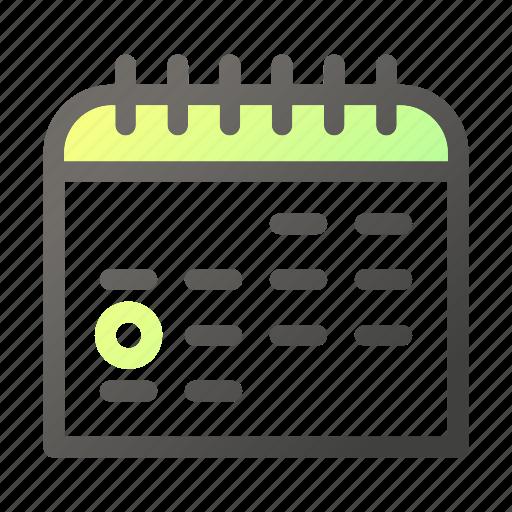 Calendar, date, scheduleevent icon - Download on Iconfinder