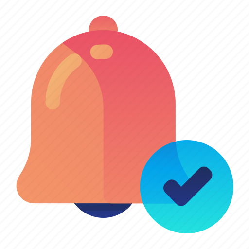 alarm, alert, approve, confirm, done icon