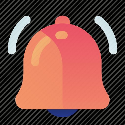 alarm, alert, bell, ringing, sound icon