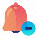 alarm, alert, delete, minus, remove icon