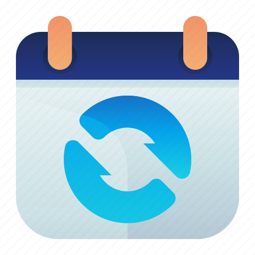 Appointment, calendar, date, sync, syncronize icon - Download on Iconfinder
