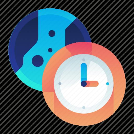 Clock, international, time, world icon - Download on Iconfinder
