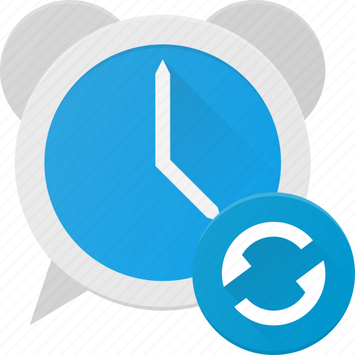 alarm, clock, recurent, renfresh, repeat, time icon