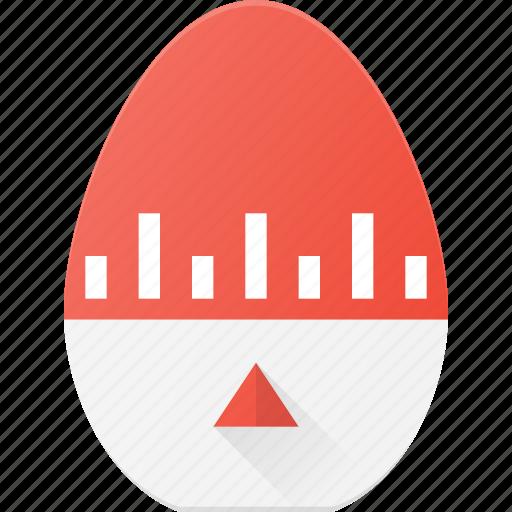 egg, kitchen, time, timer, wait icon