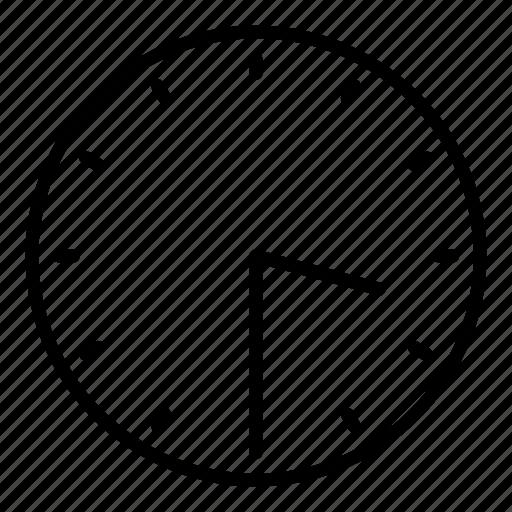 clock, half past three, time icon