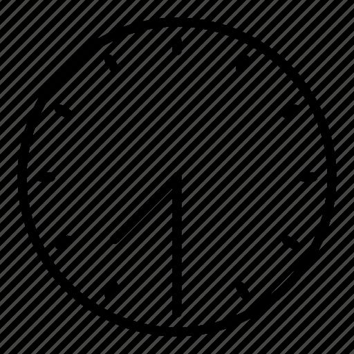 clock, half past seven, time icon
