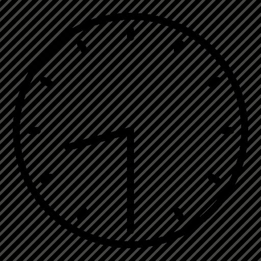clock, half past eight, time icon