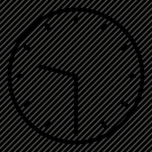 clock, half past nine, time icon