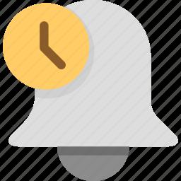 alarm, notice, notification, ring icon