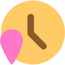 clock, schedule, time, time zone icon