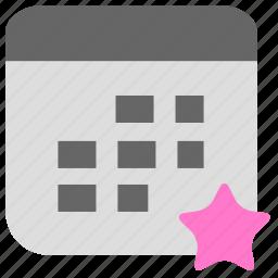 calendar, clock, date, plan, schedule, time icon