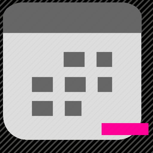 calendar, clock, date, event, plan, schedule, time icon