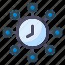 cyber, time, clock, watch, timer, alarm, schedule