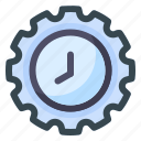 time, settings, clock, watch, timer, options, gear