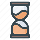hourglass, time, clock, watch, timer, alarm, schedule