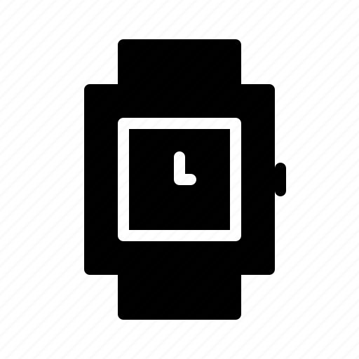 countdown, square, time, timer, watch, wristwatch icon
