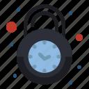 alarm, clock, lock, secure, security