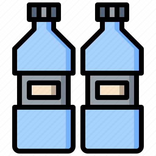 bottle, drinks, ecology, recycle, utensils, water icon