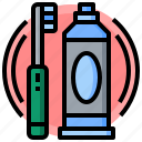 dentist, healthcare, pack, personal, tooth, toothbrush, toothbrushes icon