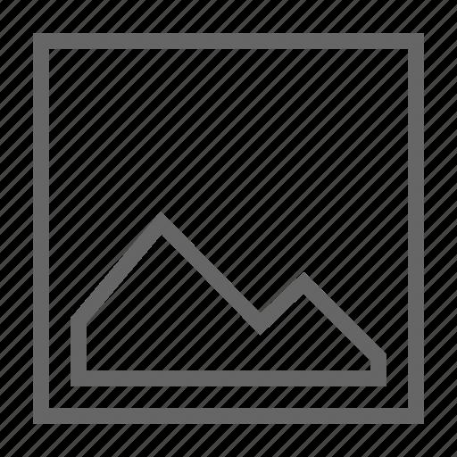 image, insert, send icon