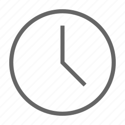 clock, last, seen, time icon