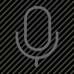 audio, message, microphone, record icon