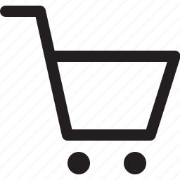 cart, empty, market, shop icon