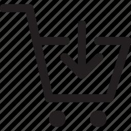 cart, market, shop icon
