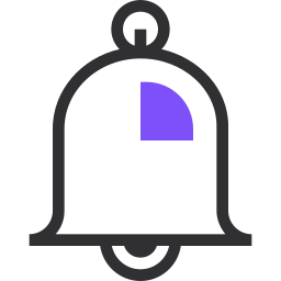 bell, call, essential, notification, remind, support icon