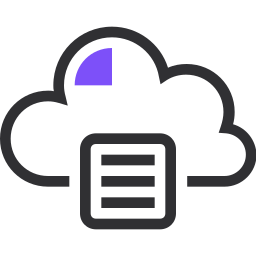 archive, cloud, database, file storage, network, server, storage icon