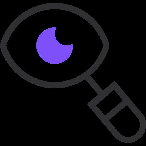 browser, find, follow, search, seek, view, web icon