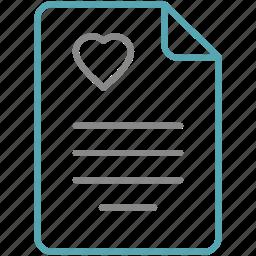 health, medical, medicine, patient, prescription icon