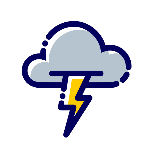 cloud, flash, fulmine, fulmini, nuvola, weather icon