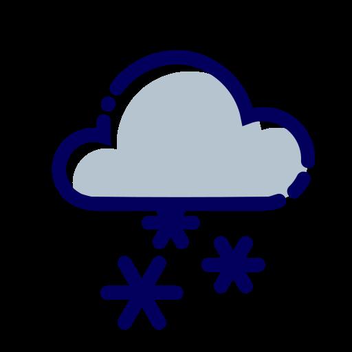cloud, fiocchi, neve, nuvole, snow, weather, winter icon