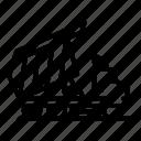 building, business, car, cat, logo, silhouette, tipper