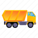 construction, loader, loading, machine, tipper, truck