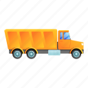 business, car, cargo, construction, technology, tipper