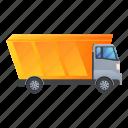 tipper, hopper, truck, lorry, car, construction