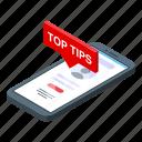online, tips, isometric