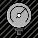 psi, measuring meter, meter, gauge, pressure, speedometer