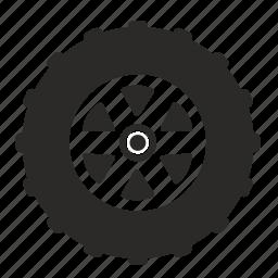 car, tire, transport, truck icon