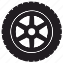 auto, tire, transport, truck icon